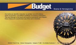 Budget Rent-a-car članske kartice