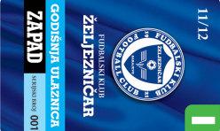 FK Željezničar godišnje ulaznice 2011-13