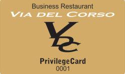Via Del Corso kartica pogodnosti