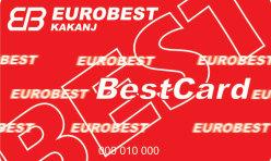 EuroBest potrošačka kartica