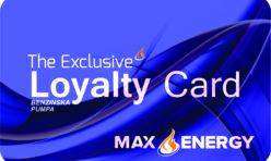 Max Energy članska kartica